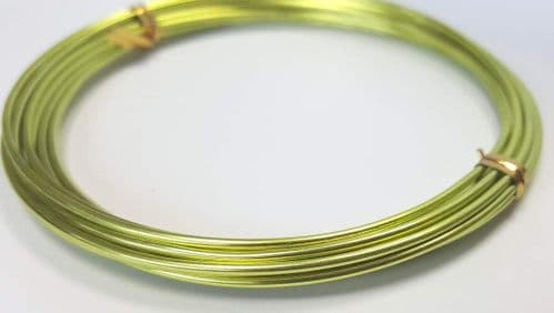 1.5mm x 3m wire - Yellow